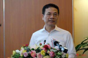 Bộ trưởng Bộ TT&TT Nguyễn Mạnh Hùng mong muốn sẽ có thêm nhiều hơn nữa các doanh nghiệp công nghệ số chung tay chống dịch để Việt Nam chiến thắng dịch NCoV và để Việt Nam phát triển.