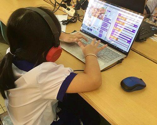 """Cuộc thi """"Em lập trình chống SARS-CoV-2"""" dành cho các học sinh từ 6 - 13 tuổi trên toàn quốc, đã học qua lập trình."""